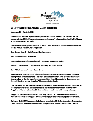 2014HC Press Release IF Draft