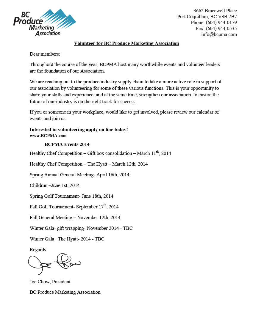 contos dunne communications  u2013 application letter of volunteer